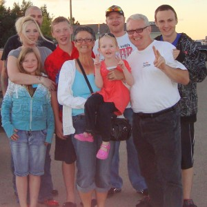 Barry Williams Family Regina Saskatchewan 2010
