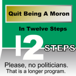 graphic about twelve step moron course