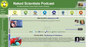Naked Scientist Podcasts screenshot