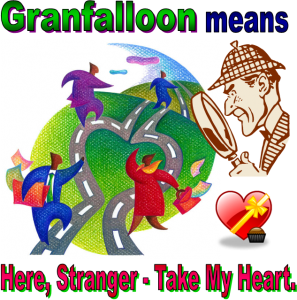 granfalloon means take my heart graphic