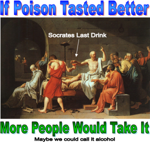 if poison tasted better more people would take it image