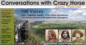 conversations with crazy horse graphic