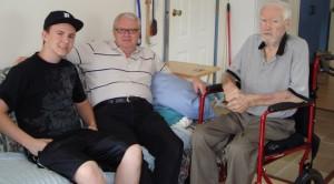 Brett, Barry & Garry Williams May 2011