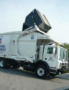Dumpster Garbage Truck