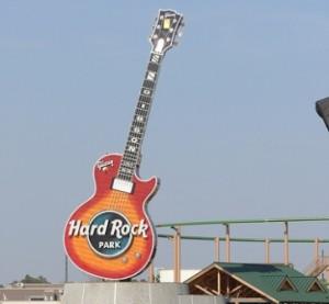 Hard Rock Park Gibson Guitar