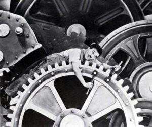 charlie chaplin gears steampunk