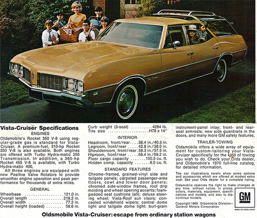 1970 olds wagon