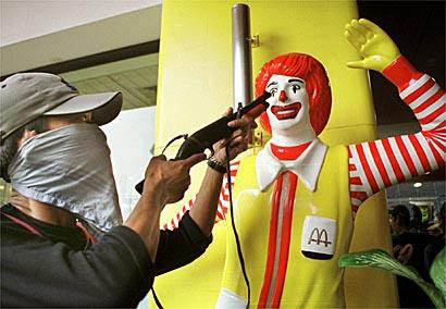 taking aim on ronald mcdonald