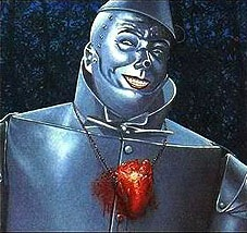 tin man with heart