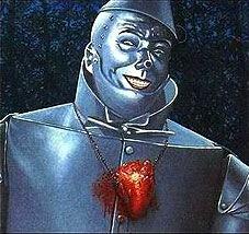 tin man with heart