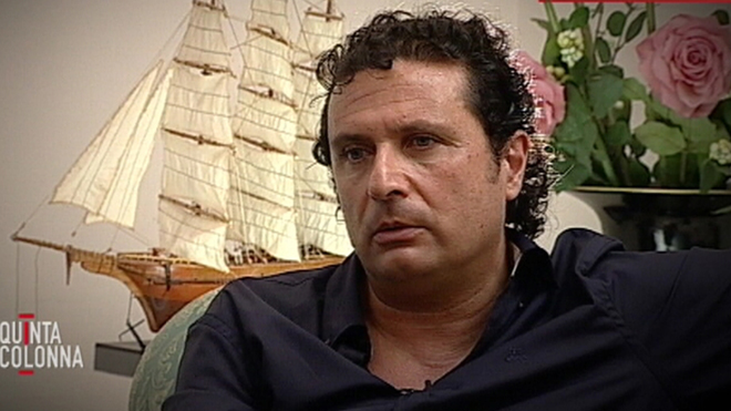 Eye Eye Captain Francesco Schettino