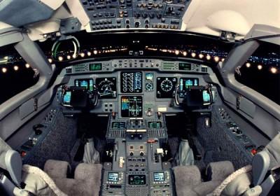 aircraft cockpit