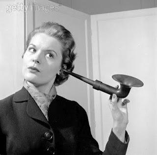 antique hearing aid