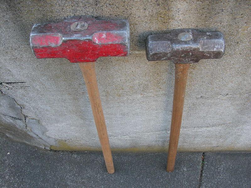 sledgehammers